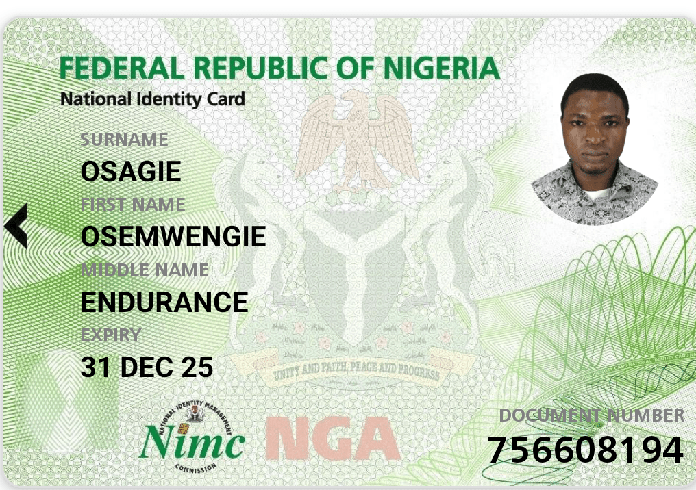 how to download national ID card in Nigeria